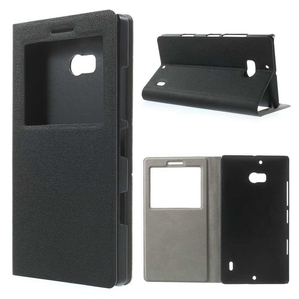 Flip cover custodia con finestra per nokia lumia 929 930 - Cover con finestra ...