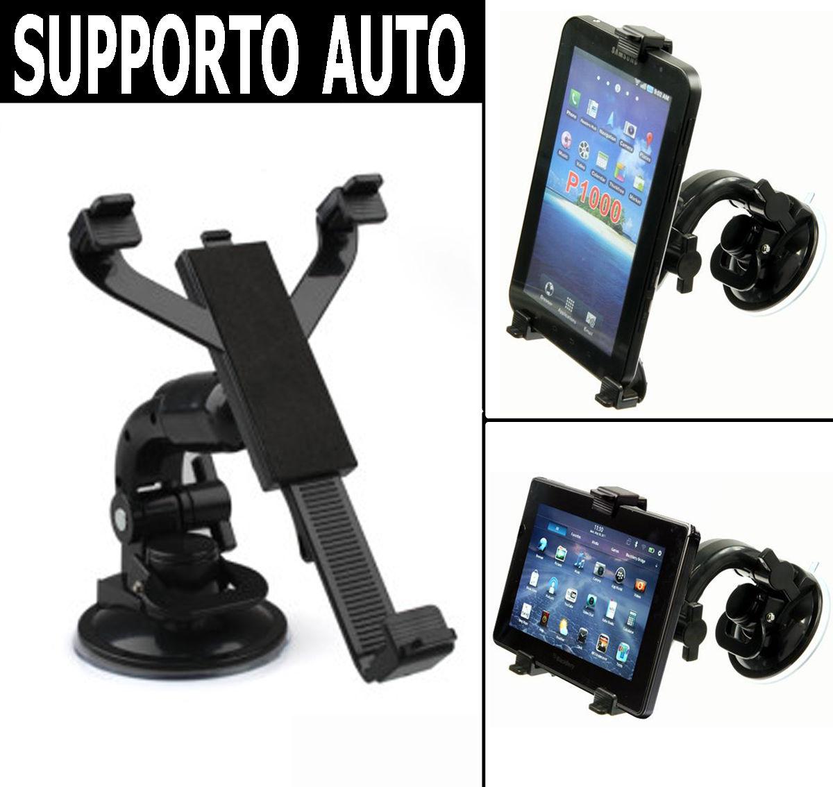 supporto a ventosa parabrezza porta tablet universale 7 8