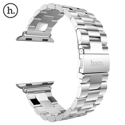 2015-new-HOCO-band-Free-shipping-316L-stainless-steel-silver-bracelet-or-strap-for-Apple-watch