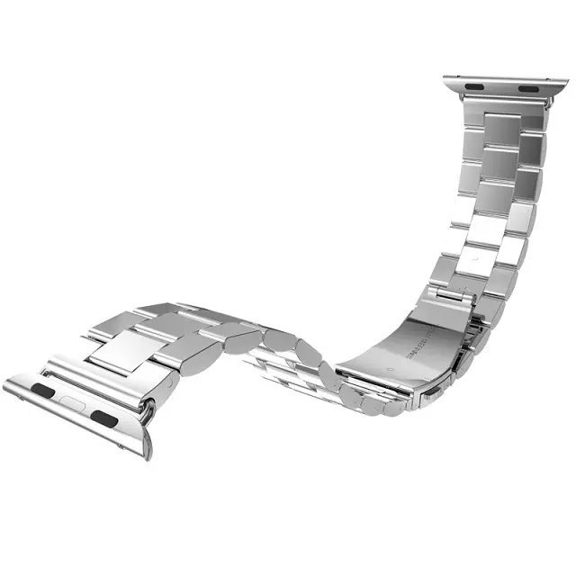 AW013-2015-Silver-Stainless-Steel-strap-For-apple-watch-Metal-band-adapter-Connector-38-42mm-TPU-2