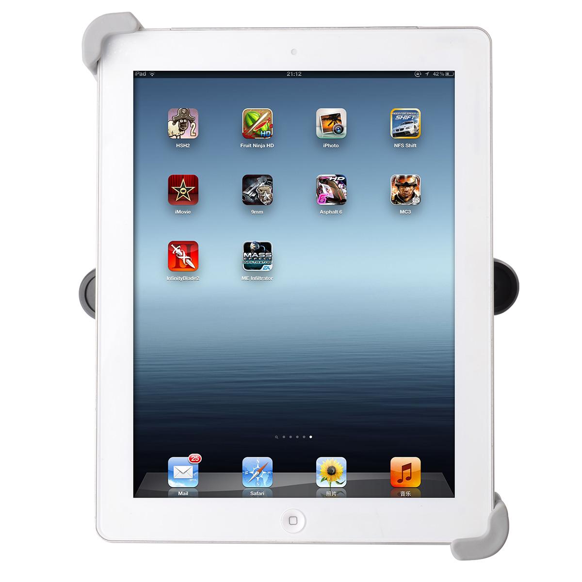Supporto per ipad air 1 2 poggiatesta auto regolabile for Supporto auto tablet 7 pollici