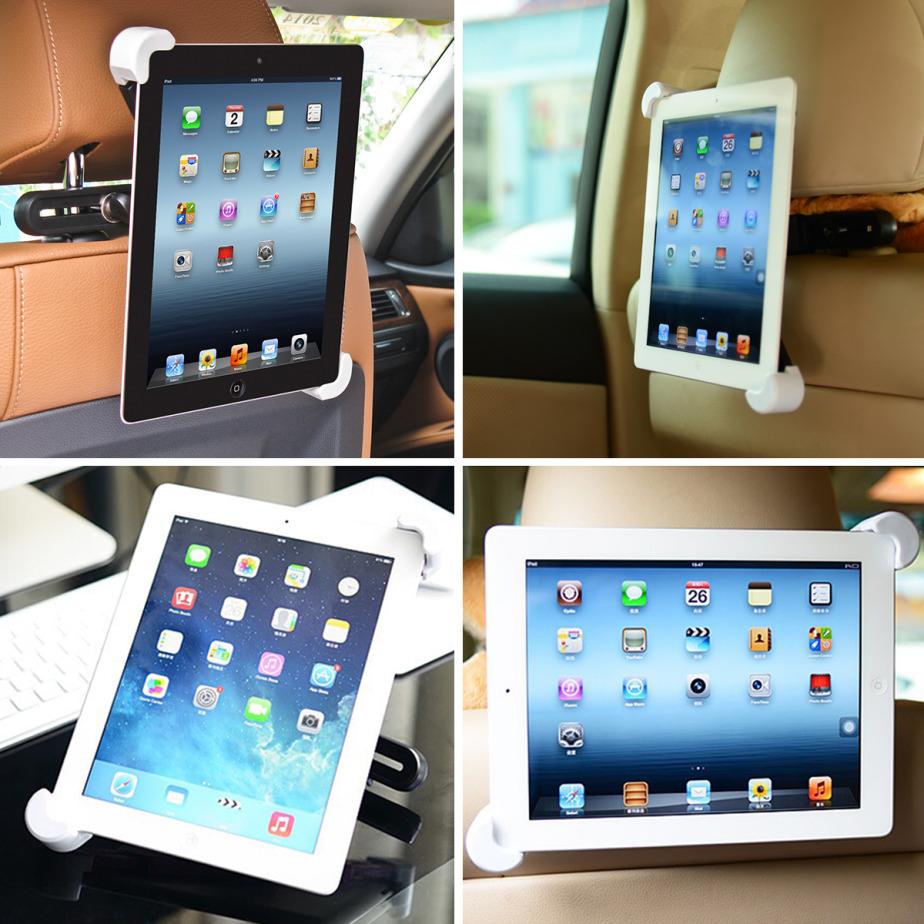 Supporto universale auto da poggiatesta per ipad e tablet for Supporto auto tablet 7 pollici