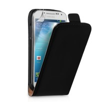 0011842_yousave-samsung-galaxy-s4-mini-black-real-leather-flip-case