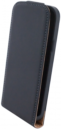 Mobiparts Premium Flip Case Samsung Galaxy S4 Mini Black2