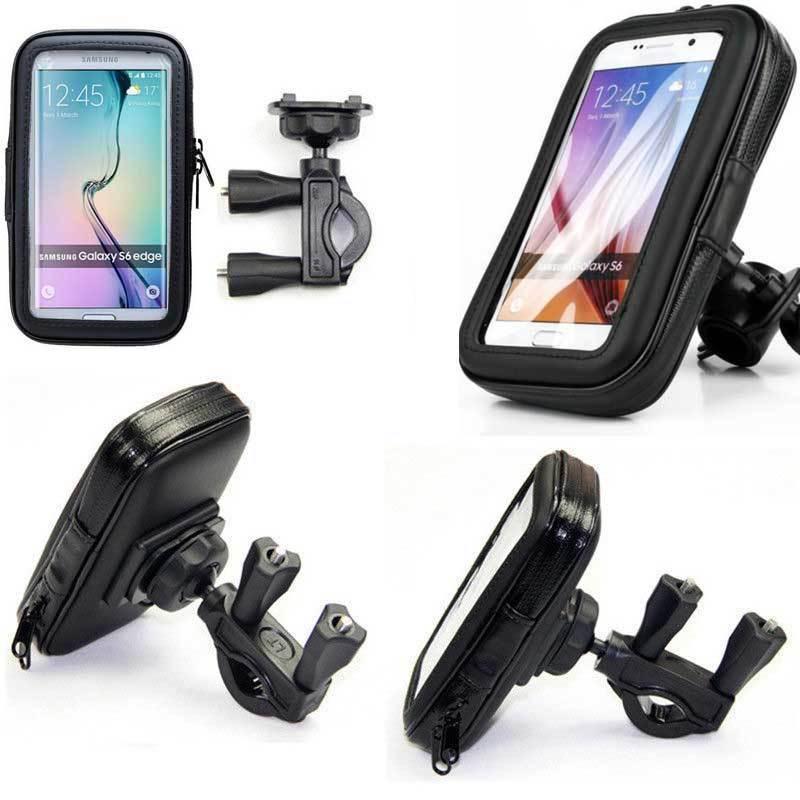 SUPPORTO BICI CUSTODIA CELLULARE PER Samsung S3 S4 S5 IPHONE 6 5 4 S BICICLETTA