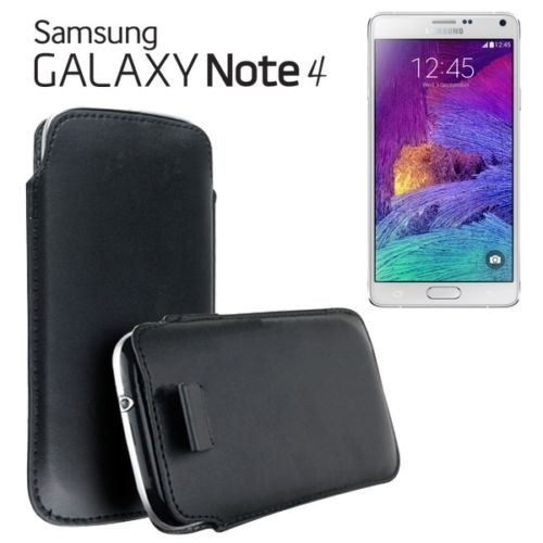 custodia samsung note 4 nero