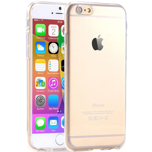 Super-Flexible-Clear-TPU-Case-For-Iphone-6-4-7inch-Slim-Crystal-Back-Protect-Skin-Pure
