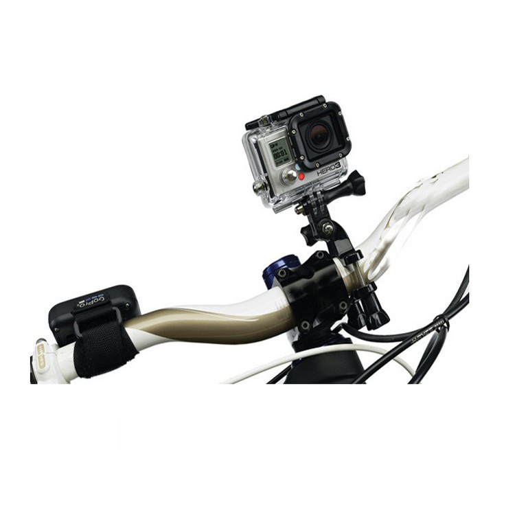 Gopro-Accessories-Kit-3-Ways-Pivot-Arm-Bike-Mount-for-Gopro-Hero-4-3-3-Xiaomi