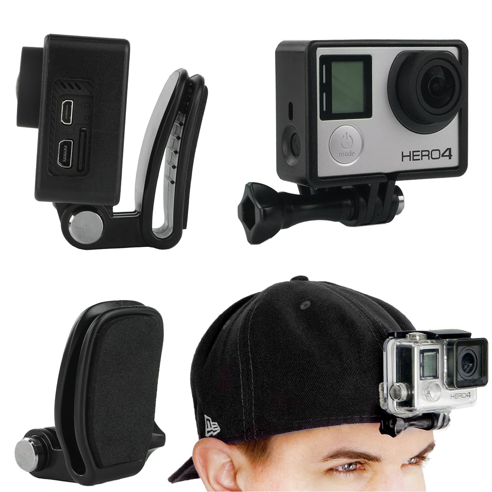 Gopro-Adjustable-Head-Strap-Mount-Hat-Quick-Clip-Mount-Backpack-Clip-Mount-Mount-Bundle-for-GoPro