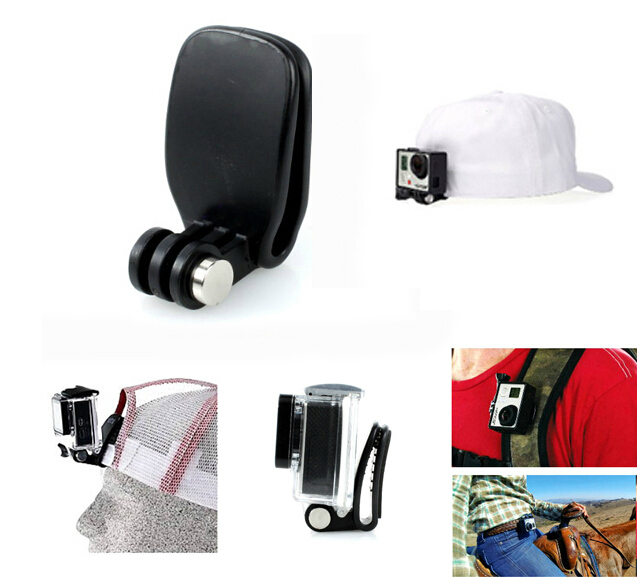 Gopro-Head-Strap-withgopro-quickclip-Quick-Clip-Clamp-Fast-Clip-kit-For-Gopro-Hero-4-3