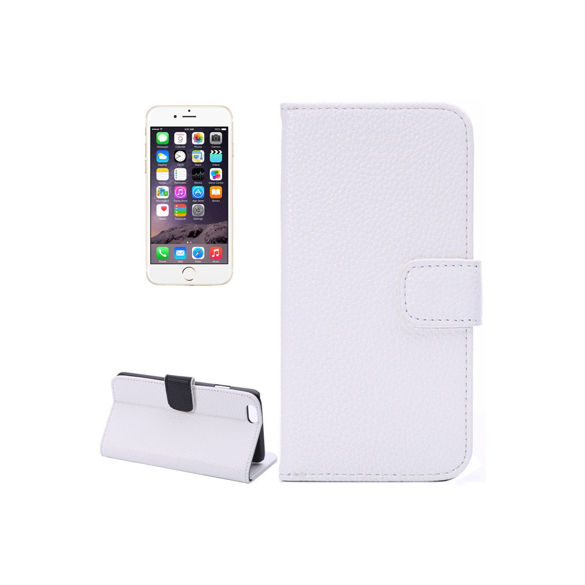 custodia a libro iphone 6s plus