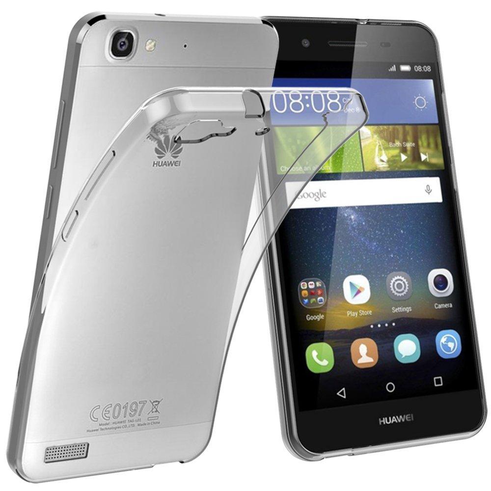 sito affidabile 25591 b0596 COVER Custodia MORBIDA TPU TRASPARENTE Silicone GEL per Huawei P8 LITE SMART