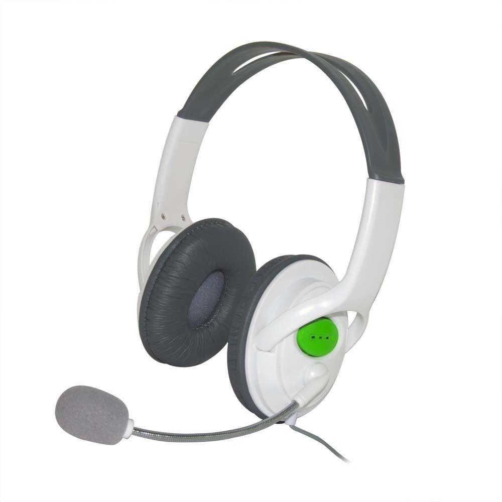 CUFFIE CUFFIA AUDIO MICROFONO HEADSET COMPATIBILI PER XBOX 360 LIVE ... e232625e02b1