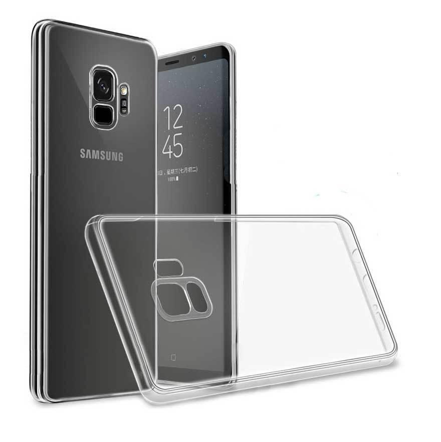 cover samsung s9 silicone trasparente